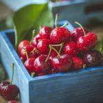cerises, fruits
